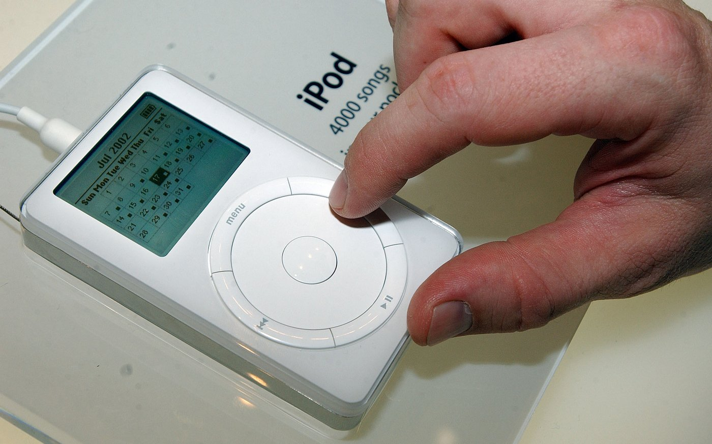 This original iPod preserved in its original packaging can be yours for $20,000