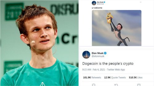 'One of my best investment ever' – The 27 year old billionaire founder of Ethereum made a staggering $4.3 million from his paltry investment of $25,000 in Dogecoin. He credits it all to Elon Musk