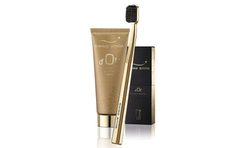 Straight from Switzerland – This gold dust infused toothpaste promises healthy and white teeth
