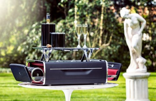 Rolls-Royce's new $47,000 Champagne Chest is the most extravagant way to transport your bubbly