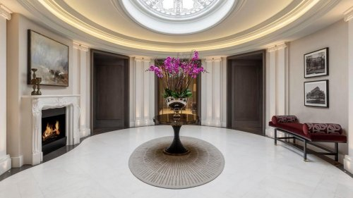 Someone bought an ultra luxe London Penthouse for $181 million that has a massive replica of the Oval office