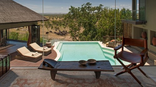 Revel in nature and absolute luxury with the Four Seasons Serengeti exclusive private villa experience