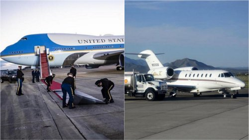 From the mighty Air Force One to this – Donald Trump was so confident on winning the re-election that he did not repair his private Boeing 757, now he is forced to fly in a tiny Cessna jet