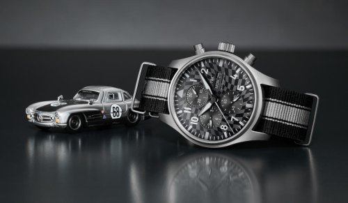 """IWC has teamed up with Hot Wheels to create a collaborative """"Racing Works"""" watch and toy collector's set"""