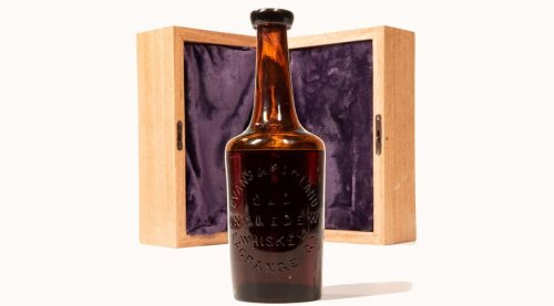 Dating back 250 years, this $110,000 Ingledew whiskey is the oldest bourbon in the world