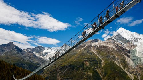 Take a look at the world's longest pedestrian bridge that has opened in Switzerland
