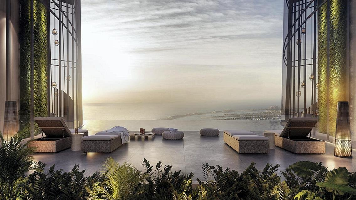 Pics - The world's tallest hotel is coming up in Dubai and it will have a stunning infinity pool : Luxurylaunches