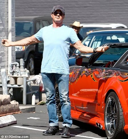 Sylvester Stallone splurges on two new cars : Luxurylaunches