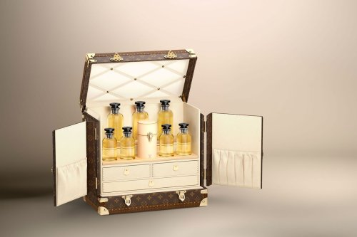 Would you pay $60,000 for custom made Louis Vuitton trunk carrying a bespoke perfume collection?