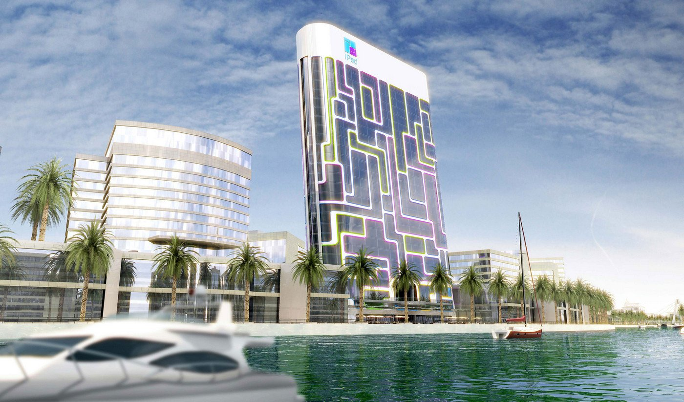 Dubai's 24-story; iPod' shaped building has intelligent apartments with toilets that analyze the resident's health : Luxurylaunches