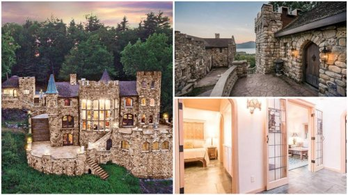 Why go all the way to Europe when this Airbnb castle in upstate New York lets you live like a royal