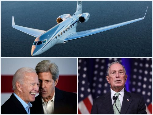 Be it Mike Bloomberg or Leonardo Di Caprio. America's biggest environmentalists advocate climate change yet travel in lavish private jets. John Kerry's family jet spewed 160 tons of emissions in one year.