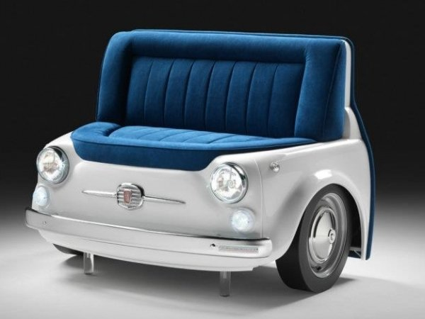 Fiat 500 Collection of sofas and tables pays ode to the car - Luxurylaunches