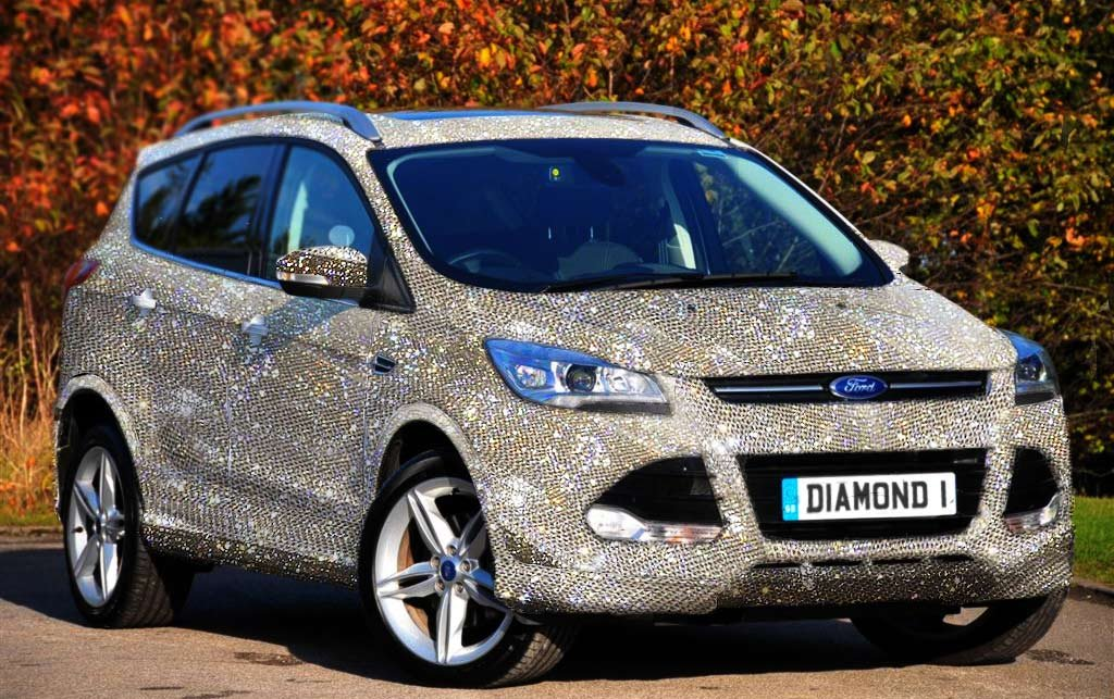 Meet the Ultimate Valentine's Day Gift – a $1.5 Million Diamond Studded Ford Kuga - Luxurylaunches