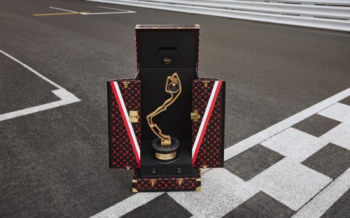 Louis Vuitton's official 2021 Monaco Grand Prix Trophy Travel Case is the latest addition to their ever-growing repertoire of luxury award trunks.