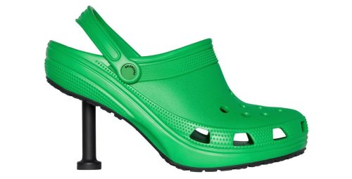 Balenciaga has made Crocs high heels. But, its a post pandemic world and we just don't care.