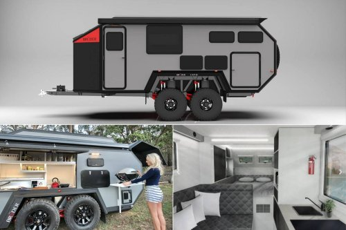 Complete with a full-fledged kitchen, bedroom, an air filtration system, and more – The EXP-8 is the Rolls-Royce of off-road camper trailers