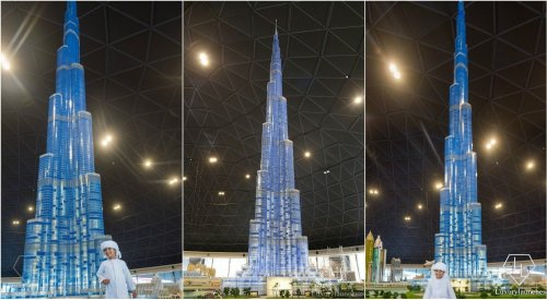At 55 foot - Dubai is home to the tallest Lego building in the world and its the Burj Khalifa : Luxurylaunches