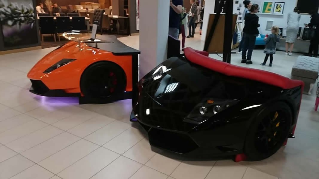 The $11,890 Lamborghini sofa is the perfect addition to a supercar-lover's living space - Luxurylaunches