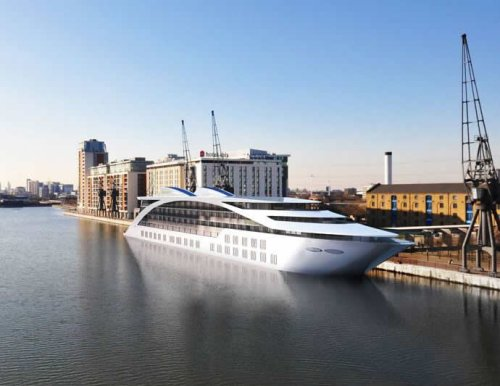 Sunborn - A five-story luxury floating hotel is all set to woo Londoners : Luxurylaunches
