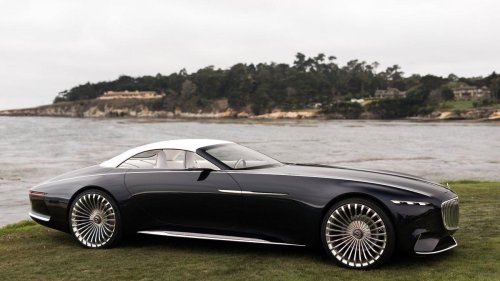 In the upcoming movie 'The Flash', Batman will be driving this gorgeous Vision Mercedes-Maybach 6 Concept