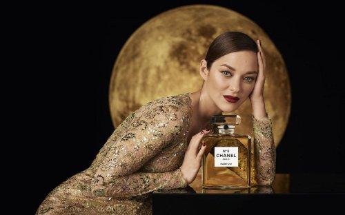 Marion Cotillard dances on the moon as the glamorous new face for the 100-year old Chanel No. 5