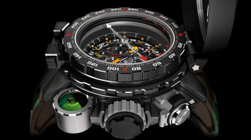 Richard Mille collaborates with Sylvester Stallone for a million dollar adventure watch