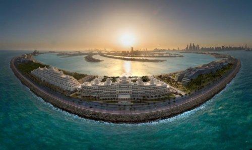 Take a look at the Raffles The Palm Dubai, a palatial luxury beachfront resort in UAE's metropolis