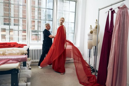 Netflix launches first high-end fashion line in collaboration with Halston