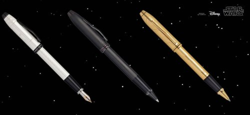 Cross pays tribute to Star Wars with a Darth Vader, C-3PO and Stormtrooper pen : Luxurylaunches