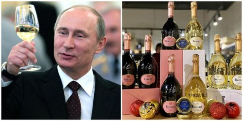 Angry and how. The French have halted the supply of bubbly after Putin said 'Champagne is Russian.'