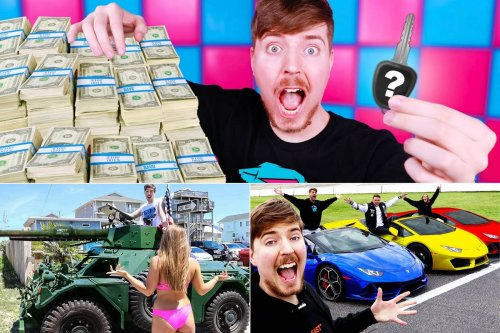 The Oprah of Youtube spends $48 million a year making his videos – 23-year-old Youtuber Mr. Beast gave away $200k to people who lost jobs in the pandemic and even tipped a house to a pizza delivery guy.
