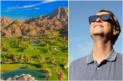 Following the news of his divorce, Bill Gates has holed up in this ultra luxury members only California Golf resort where he has a lavish six-bedroom mansion.
