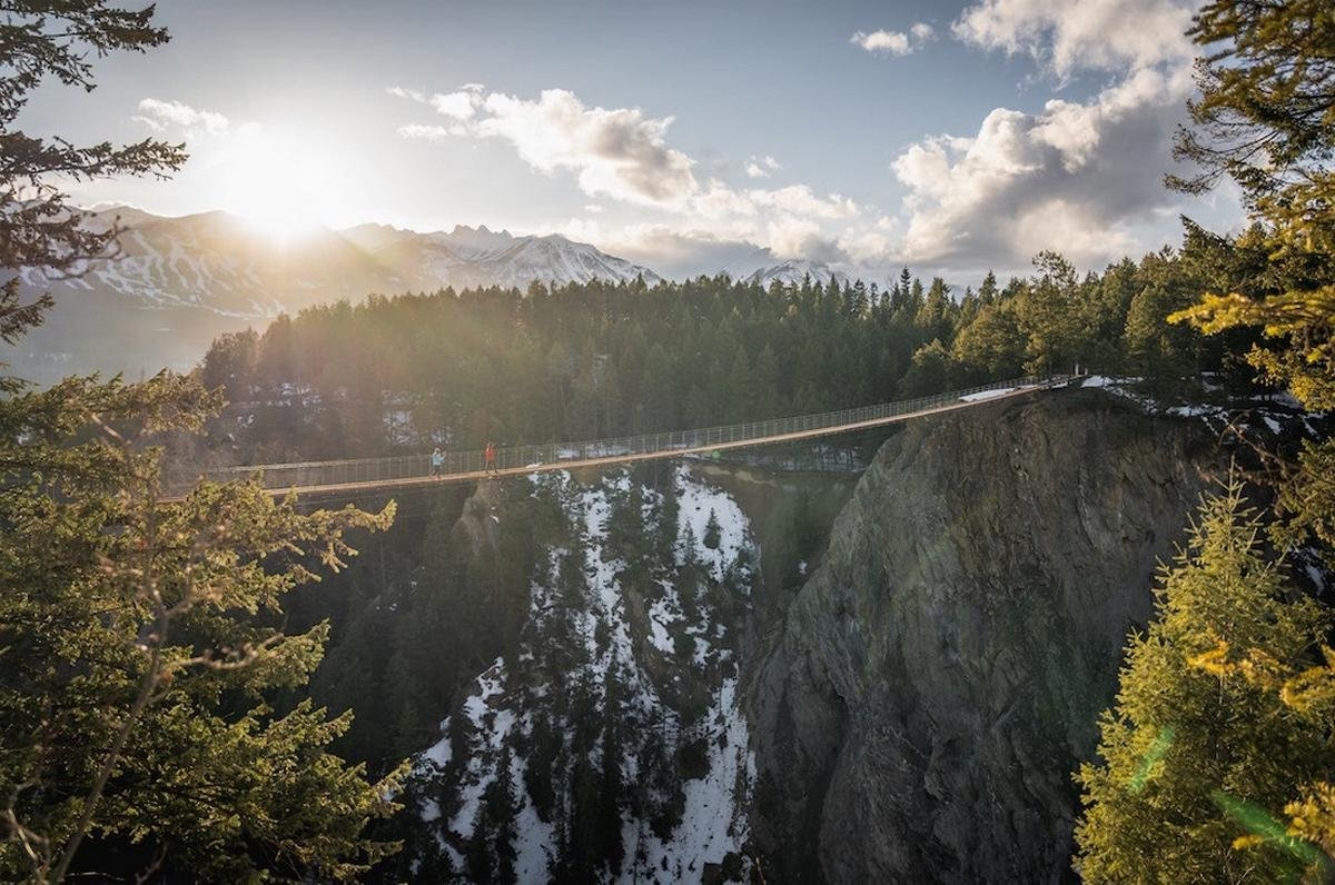 Take a look at Canada's highest suspension bridge: It will come with a walkway that will let visitors cross a canyon from a breathtaking height of 426 feet