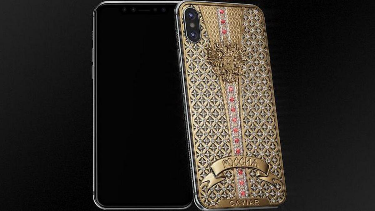 This $40,000 one-off iPhone X by Caviar is encrusted with 344 diamonds - Luxurylaunches