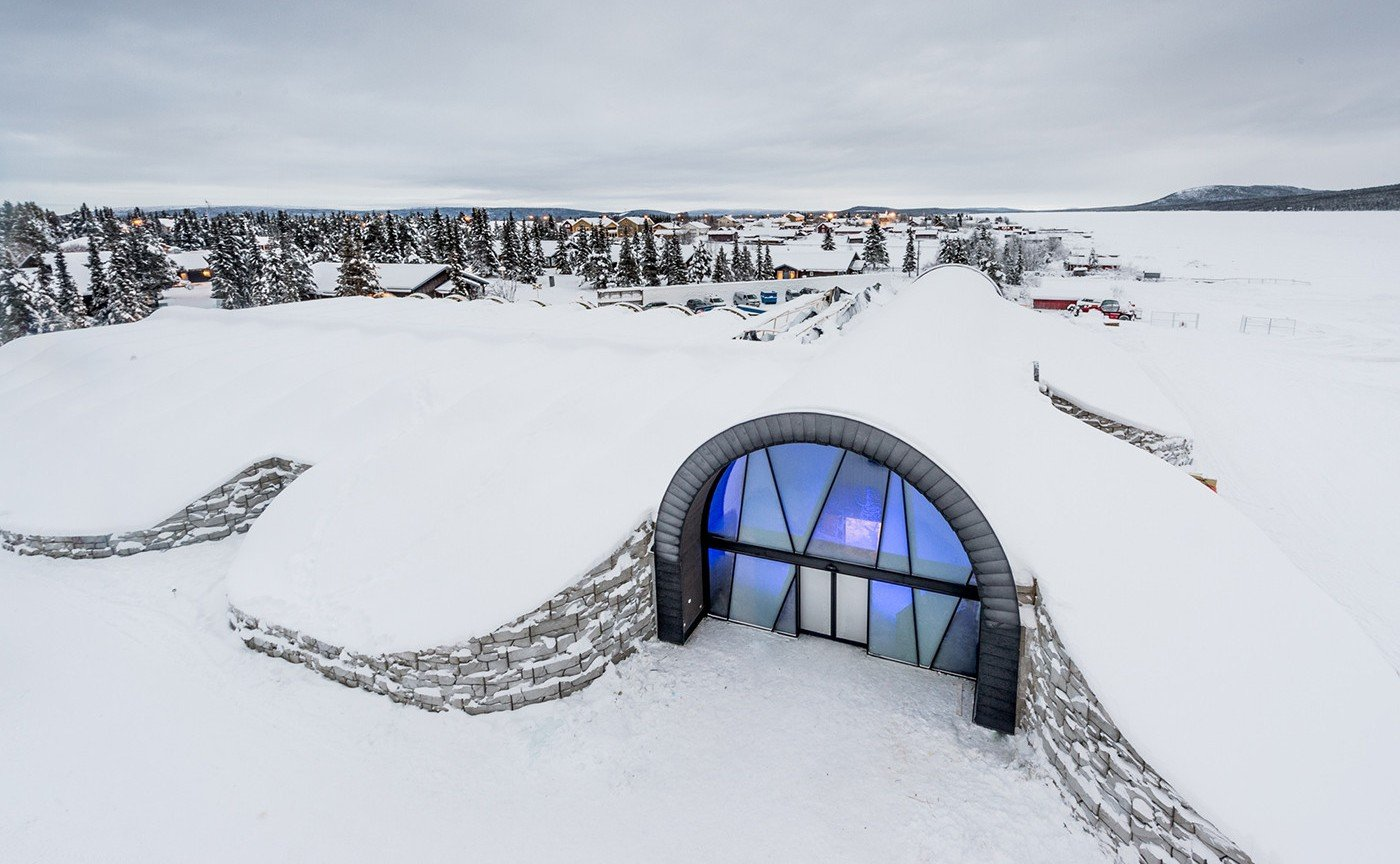 Take a look inside the icy cold world of the world's first 365 day Ice Hotel - Luxurylaunches