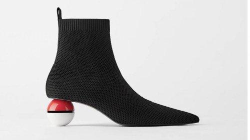 Its not a joke – Zara China is actually selling these Pokemon themed Poke ball high heels