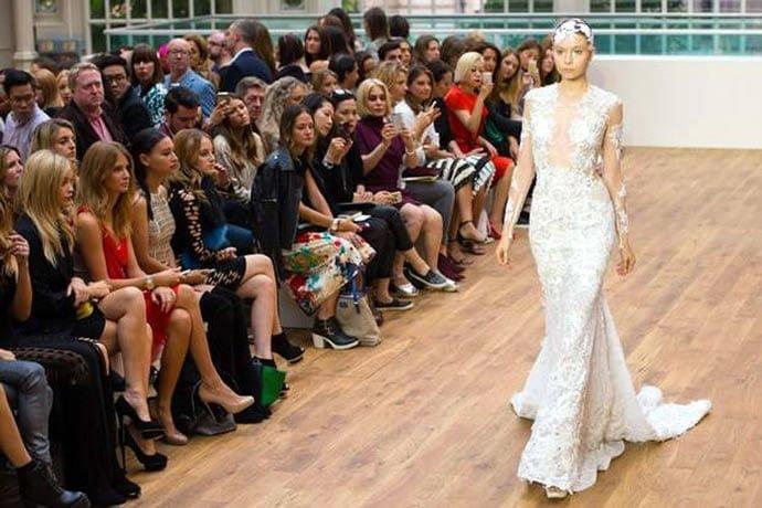 Mermaid-inspired £4 million diamond studded wedding dress by Julien Macdonald woos Londoners - Luxurylaunches