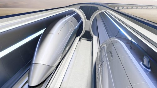 Not a scene from Black Panther or Star Wars. But, this is what Italy's 760 mph Hyperloop system will look like