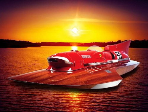 Way back in the 50's Ferrari made a wild V12-powered race boat, now that incredibly rare machine is up for sale with an asking price of $12 million