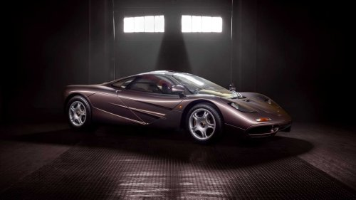 With only 242 miles on the odometer, this 1995 McLaren F1 could be auctioned for as high as $15 million