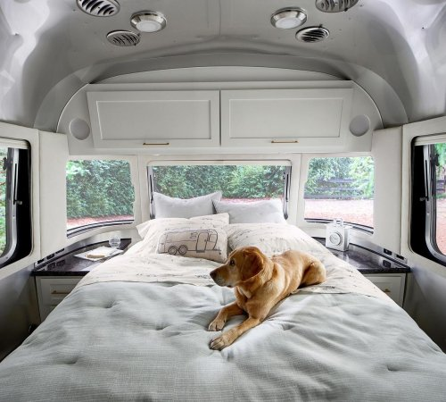 Airstream and Pottery Barn join hands for a new road-trip inspired home collection