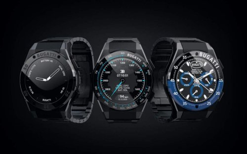 Why go for an Apple Watch when you can get a limited-edition Bugatti smartwatch for $1,100