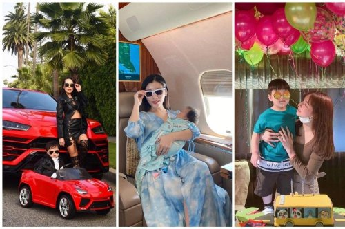 From baby-sized Ferrari's to million dollar birthday bashes – Check out how Crazy Rich Asian mums splurge on their children – Kylie Jenner's OTT presents for Stormi Webster seem modest now