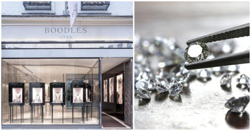 By simply swapping gems with garden pebbles a woman hired by Russian investors stole diamonds worth $5.7 million from a posh London jewelry shop