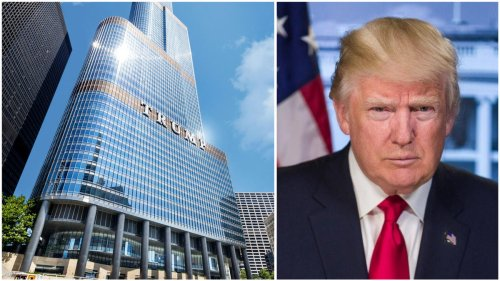 Donald Trump has been awarded a $1 million tax refund for his controversial 98-story Chicago skyscraper. Around $540,000 of it will come out of the city's public school budget.
