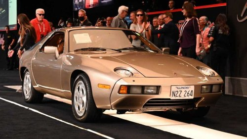 A Porsche 928 driven by Tom Cruise in the 1983 movie Risky Business set a new auction record by selling for $2 million