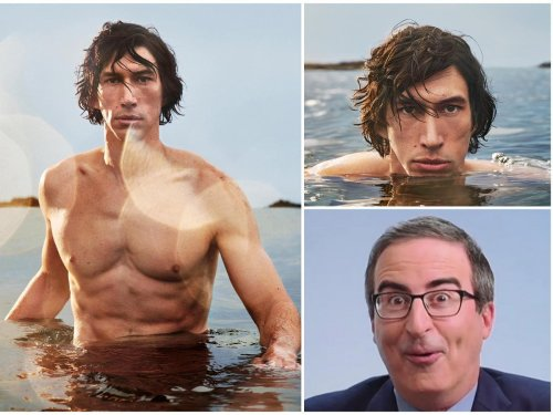 Adam Driver becomes the face of Burberry Hero fragrance. Sends the Internet into a meltdown with his centaur transformation