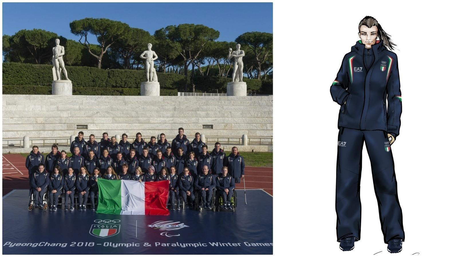 Italian athletes will wear Armani to the 2018 Olympics! - Luxurylaunches