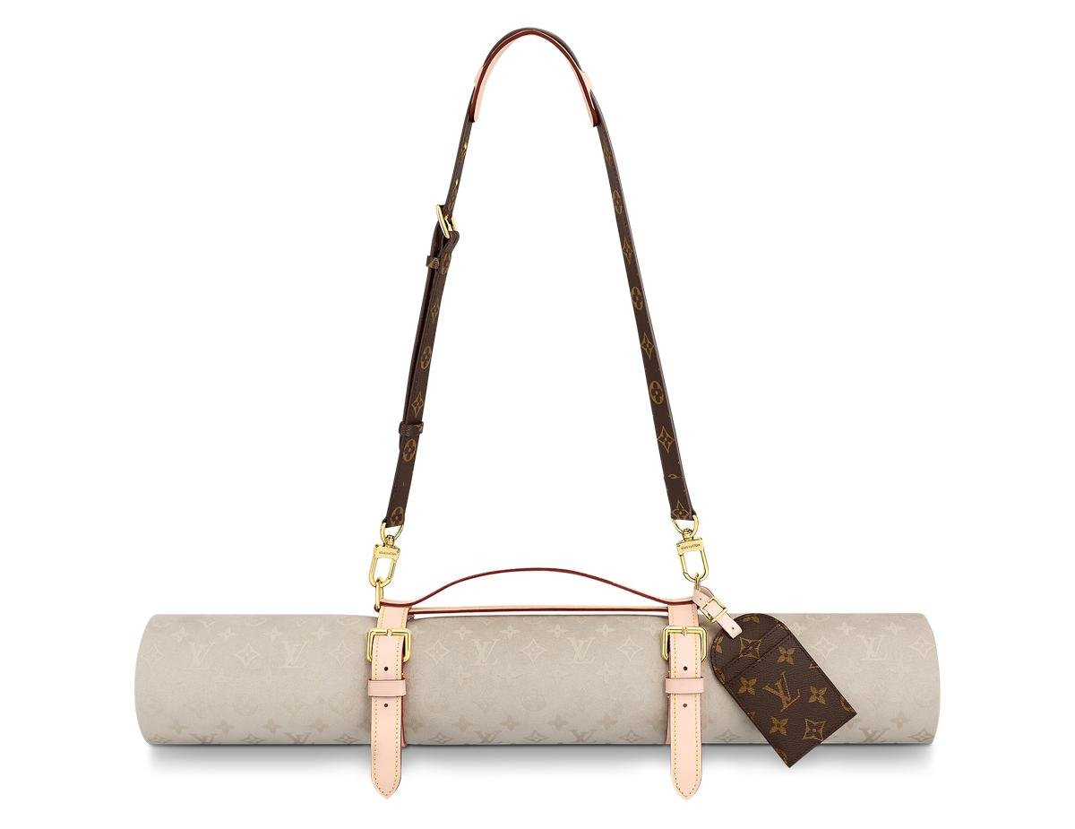 Louis Vuitton's $2500 yoga mat made of cowhide leather has upset Hindu activist who have termed it highly inappropriate